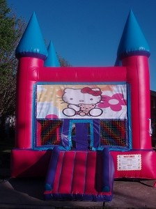 Hello Kitty Castle Moonwalk 3